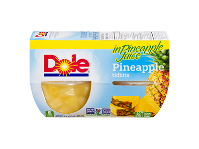 Tropical Gold Pineapple Fruit Bowl