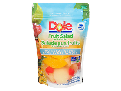 Dole Resealable Fruit Pouches - Fruit Cocktail NSA