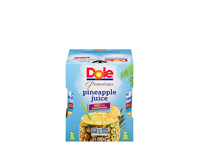 Dole Pineapple Juice 4 250mL Cans