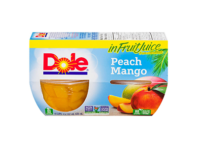 Dole Peach Mango in Fruit Juice