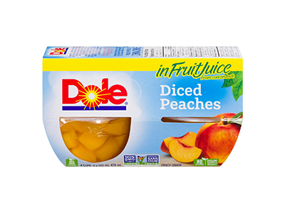 Dole Diced Peaches in Fruit Juice